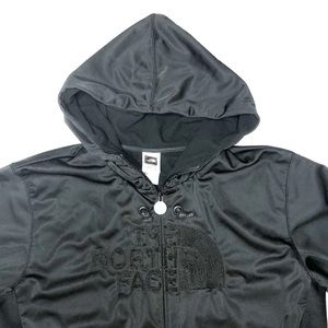 The North Face Embroidered Logo Double Zip Hoodie